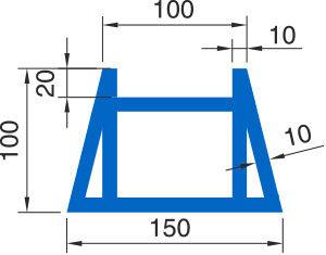 Распределительный пояс МР 150-Б - схема