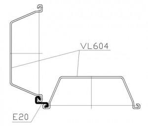 Угловой соединитель E20